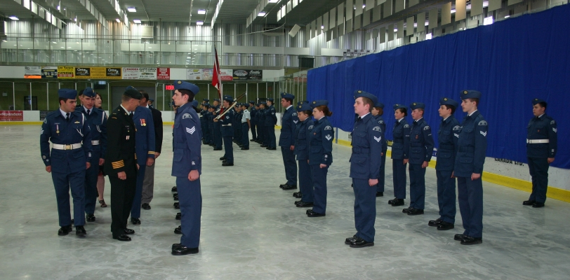 2013 Annual Ceremonial Review (Photo by S. Mayne)