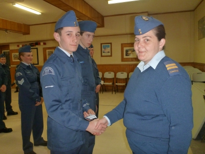 Promotion to Corporal