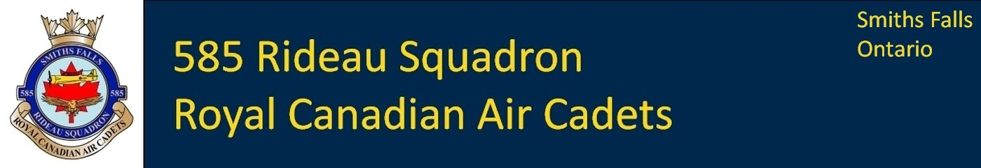 585 Rideau Squadron Royal Canadian Air Cadets