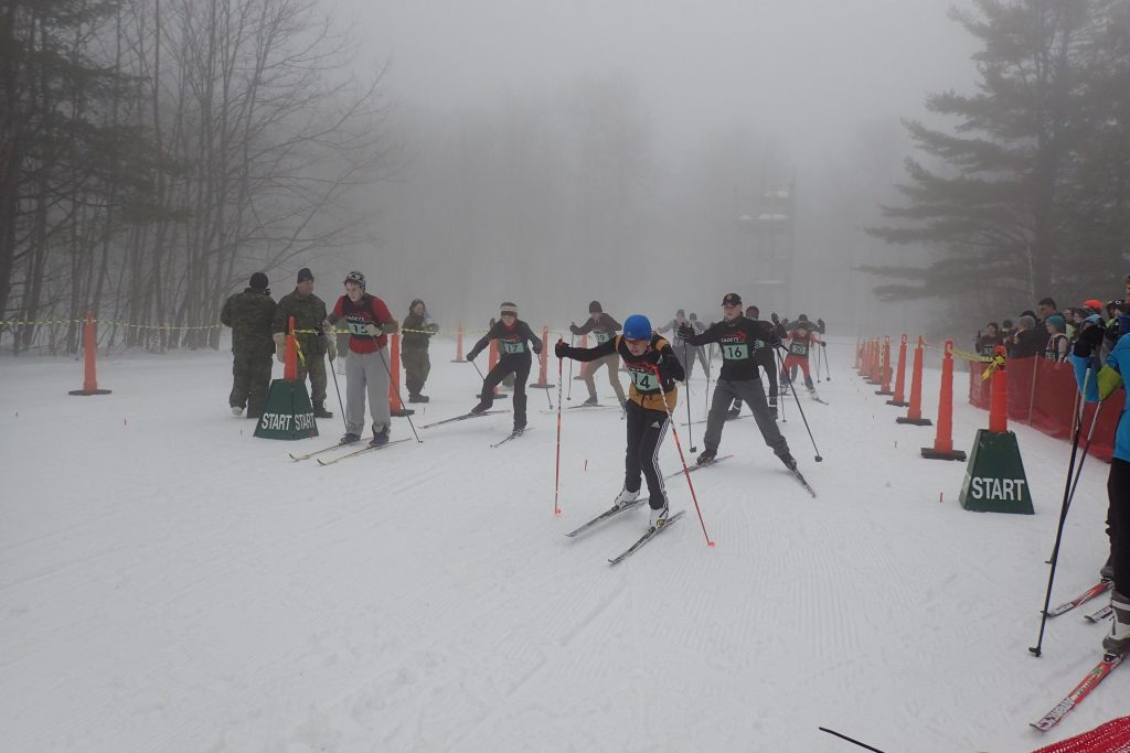 Baillon begins biathlon